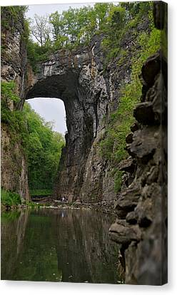 Natural Bridge Canvas Print