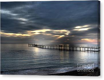 Natural Light Show Canvas Print