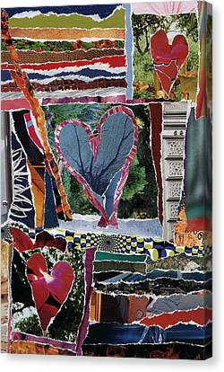 Natural Love Canvas Print by Kenneth James