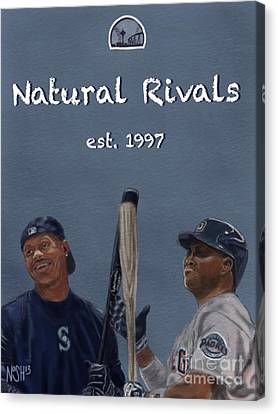 Natural Rivals Canvas Print by Jeremy Nash