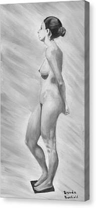 Natural Woman Canvas Print by Brenda Bonfield