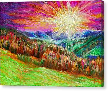 Nature 1  25 2015 Canvas Print