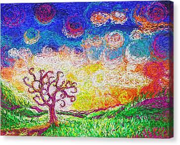 Nature 2 22 2015 Canvas Print