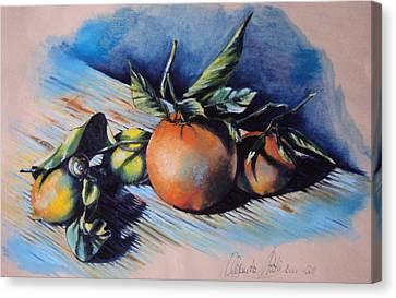 Nature Canvas Print by Alessandra Andrisani
