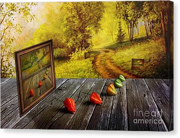 Nature Exhibition Canvas Print