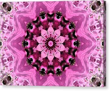 Nature Kaleidoscope 1 Canvas Print by Carol Groenen