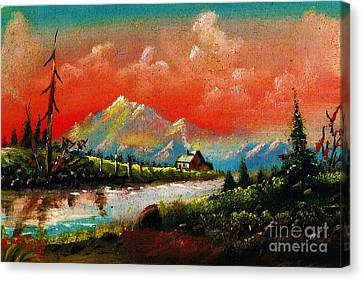 Canvas Print - Nature Of God by Donna Chaasadah