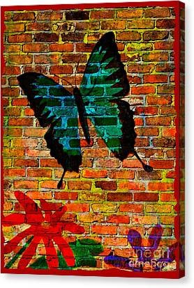 Nature On The Wall Canvas Print by Leanne Seymour