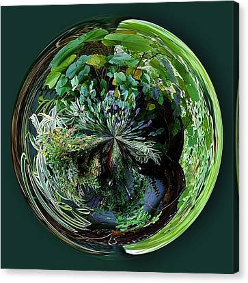 Nature Orb Canvas Print by Paulette Thomas