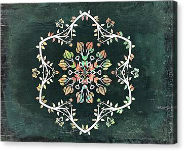 Nature Vibe Mandala - S02t02c Canvas Print