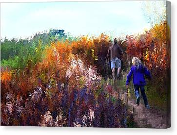 Nature Walk Canvas Print by Terence Morrissey