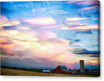 Landscapes Canvas Print - Nature's Country Painting by James BO  Insogna