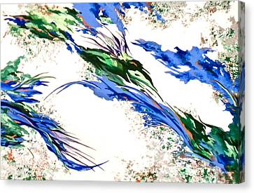 Nature's Essence Canvas Print by Jan Law