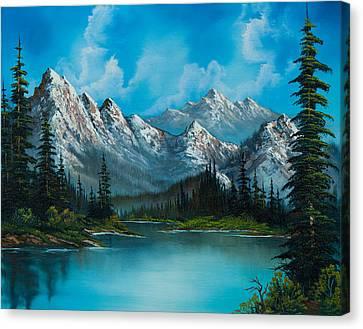 Nature's Grandeur Canvas Print by C Steele