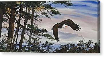 Natures Grandeur Canvas Print by James Williamson