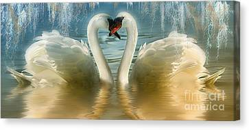 Natures Love Canvas Print by Elaine Manley