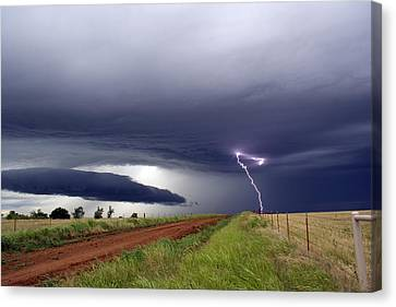 Canvas Print featuring the photograph Natures Power by Yvonne Emerson AKA RavenSoul