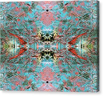 Crystallizing Energy Canvas Print
