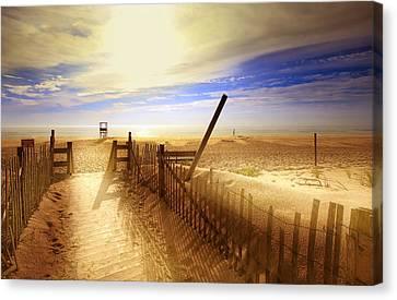 Nauset Beach Canvas Print - Nauset Beach Early Morning by Dapixara Art