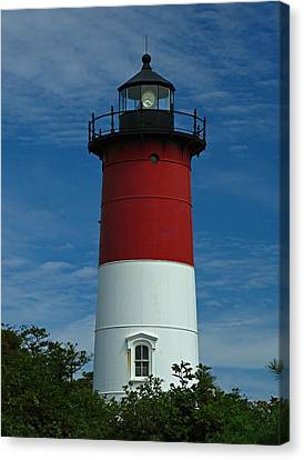 Nauset Beach Lighthouse Canvas Print by Juergen Roth