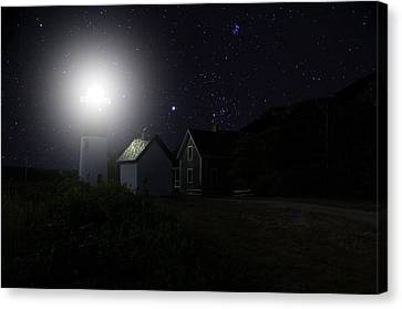 Nauset Light Canvas Print
