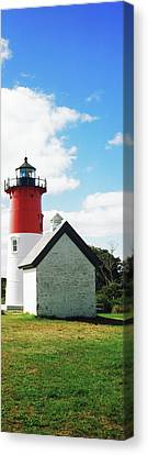 Nauset Lighthouse, Nauset Beach Canvas Print