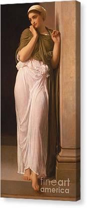 Nausicaa Canvas Print by Frederic Leighton
