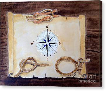 Nautical Canvas Print by Eva Ason