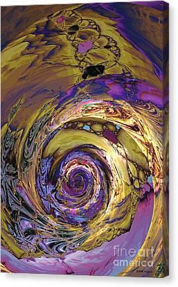 Nautilus Abstract Canvas Print