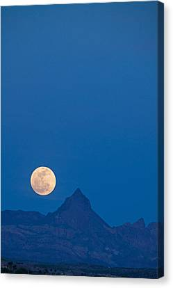 Navada Moon-1 Canvas Print