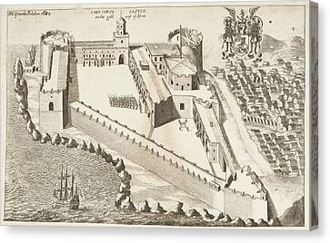 Naval Fortress Canvas Print by British Library