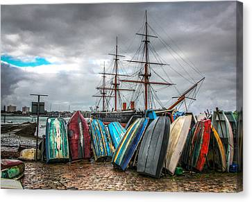 Naval History Canvas Print by Ross Henton