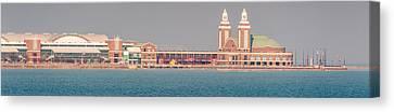 Navy Pier Brief Canvas Print by Cliff C Morris Jr