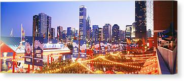 Navy Pier Chicago Il Canvas Print by Panoramic Images