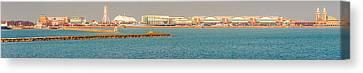 Navy Pier Canvas Print by Cliff C Morris Jr