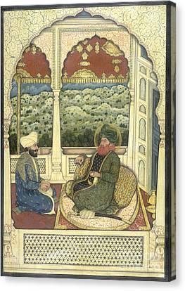 Nawab Muhammad Bahawal Khan Canvas Print by British Library