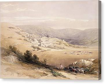 Nazareth Canvas Print by David Roberts