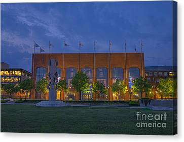 Ncaa Hall Of Champions May 2013 Canvas Print by David Haskett