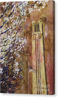 Ncsu Bell Tower Canvas Print