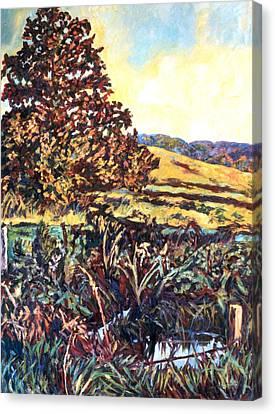 Near Childress Canvas Print by Kendall Kessler