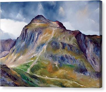 Near Hawkshead Lake District Canvas Print