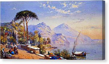 Near Naples Canvas Print by Celestial Images