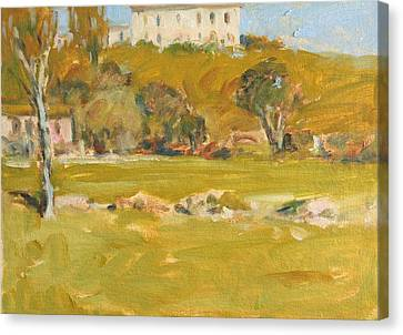 Near Sienna Canvas Print by Owen Hunt