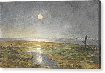 Near Southwick Canvas Print by Celestial Images