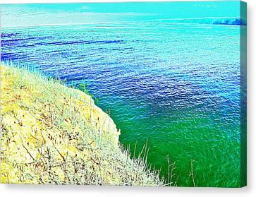 Near The Sea Canvas Print by Regina Avila