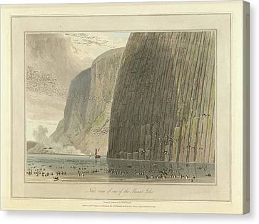 Near View Of One Of The Shiant Isles Canvas Print by British Library