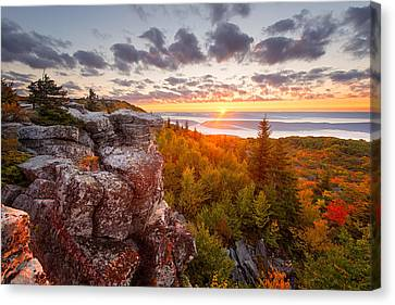 Canvas Print featuring the photograph Near Wild Heaven by Bernard Chen