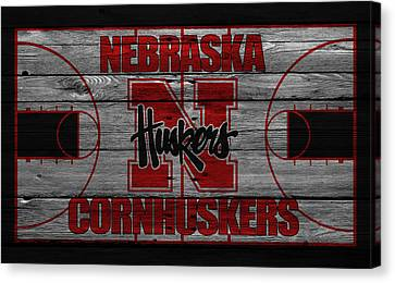 Nebraska Cornhuskers Canvas Print by Joe Hamilton
