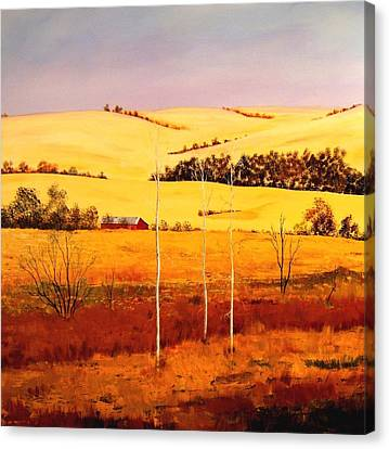 Nebraska Plains Canvas Print by William Renzulli