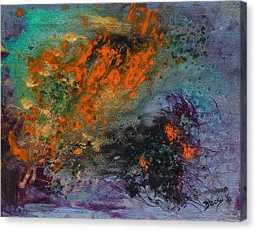Nebula Cloud  Canvas Print by Donna Blackhall